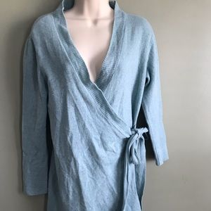 Soft Surroundings cashmere and lambs wool cardigan